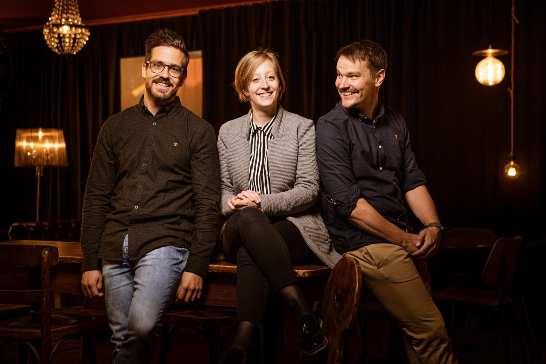 Deine Gastgeber Marco, Xenia und Johannes