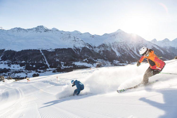 Skifahren in Arosa Lenzerheide
