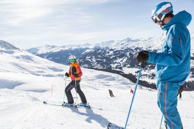 Skifahren im Skigebiert Arosa Lenzerheide
