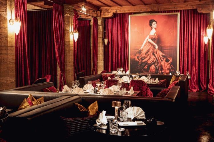 Salon Rouge Restaurant Lenzerheide