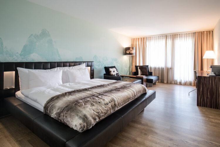 Hotelzimmer - Hotel Kurhaus Lenzerheide